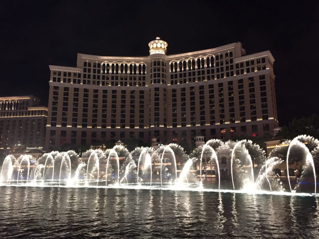 bellagio fontaines