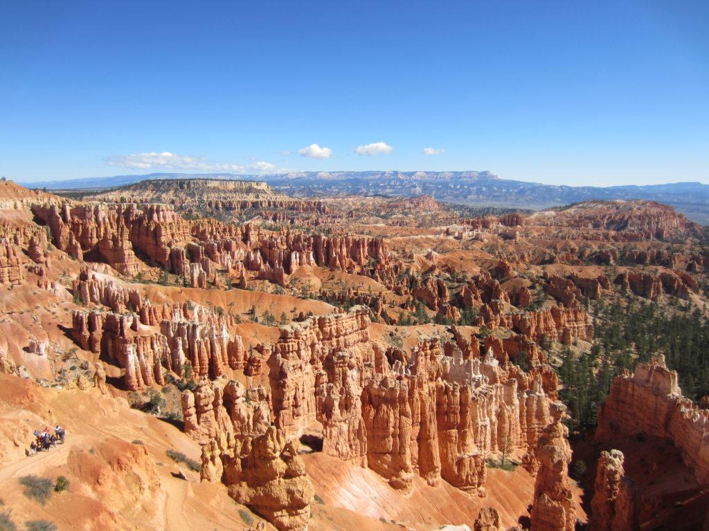 amphitheatre hoodoo bryce canyon
