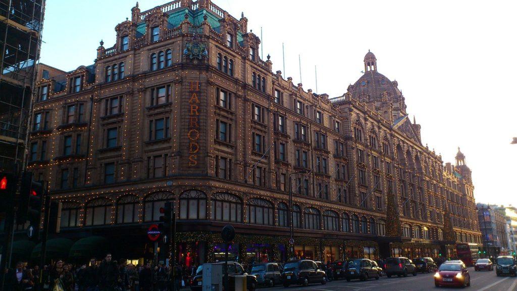 harrods shopping london