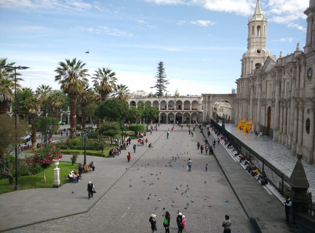 basilica cathedral arequipa