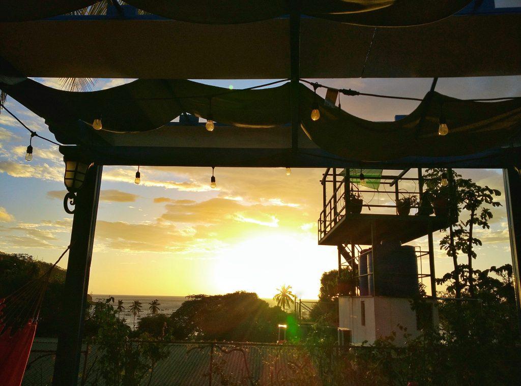 sunset san juan del sur