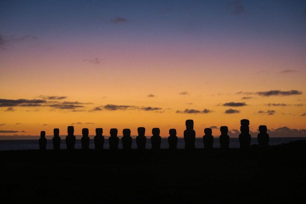 Sunrise at Tongariki